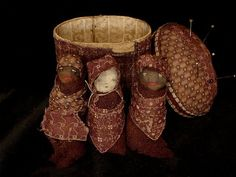 Of Cloth and Hand wonderful website for handstitched primitive dry goods
