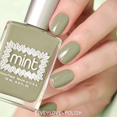Swatch of Mint Bleecker Street Nail Polish