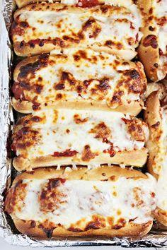 Easy Dinner Idea - Oven Baked Meatball Sandwiches Recipe