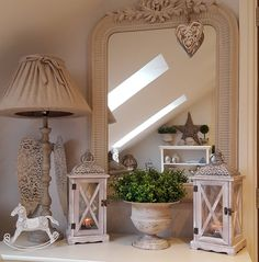 Hello my lovelies....goodness me what a day...Sorry not posted before now was up and off early on errands.... Then back to unpack stock...so we have new wooden lanterns...star cushions...star tea towels...urns..right back to it...bye for now xxx #westbarninteriors #lantern #rockinghorse