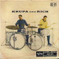 Gene Krupa And Buddy Rich