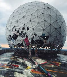 #teufelsberg #berlin  by yagmurodev