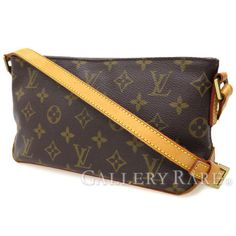 LOUIS-VUITTON-Monogram-Shoulder-Bag-Trotteur-Cross-Body-M51240-Auth-3045756