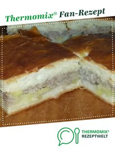 Russian pirog with potatoes and minced meat from RoxanaK. A Thermomix ® recipe from the baking categ All Recipes Apple Crisp, Apple Recipes, Crockpot Recipes, Sauce Recipes, All Recipes Cookies, All Recipes Chicken, Chicken Stuffed Shells, Gluten Free Muffins, Dry Yeast
