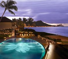 Hotel Halekulani - Hawaii #HotelDirect info: HotelDirect.com