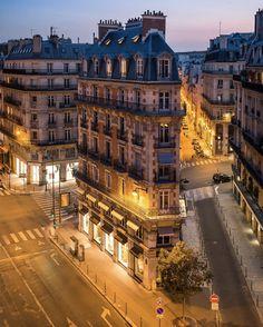 City Aesthetic, Travel Aesthetic, Paris France, Beautiful World, Beautiful Places, Beautiful Streets, Places To Travel, Places To Visit, Paris By Night