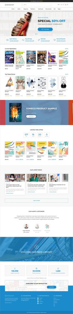 BookShop is clean and modern design 3in1 responsive @Shopify theme for stunning online #book store #eCommerce website download now >> https://themeforest.net/item/shopify-theme-for-books-media-online-store-downloadable-products-bookshop/19832727?ref=Datasata