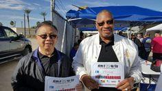 Wayne Yee & Hugh Crooks say #IAM4WARRIORS