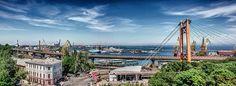 Port of Odessa, Ukraine by Alan Agius #Odessa #Ukraine #sky #sea #Ukraine