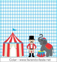 kit festa tema circo baton