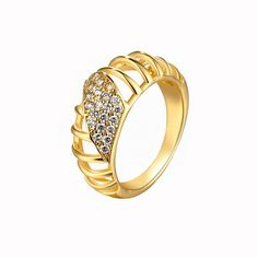 Find More Rings Information about Fashion Rings for Women Crystal Wedding Ring 2015 New Arrival Anello Womens 18K Gold Plated Jewellery Bague Femme Ulove R089,High Quality ring wrapper,China ring brooch Suppliers, Cheap ring c from ULOVE Fashion Jewelry on Aliexpress.com