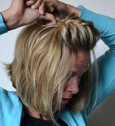 20 Short Braided Hairstyle-15