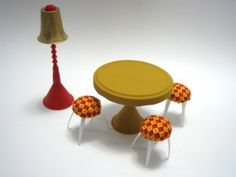 Building a Dollhouse: Furniture From Recycled Materials