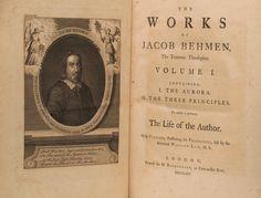 Jacob Boehme - Works of the Teutonic Theosopher | Bauman Rare Books