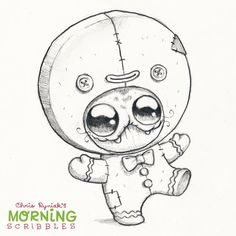 Artist Chris Ryniak - morning scribbles