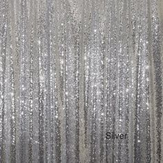 Silver Sequins Backdrop ,4ft x 8ft Sparkly Sequin backdrop, Photo Backdrop Sequin Curtain for Wedding/ Party,Wedding Photo Booth - The backdrop is made of Sequin Mesh Fabric. Because it is on mesh fabric, the backdrop is not opaque and has a sheer quality. This Backdrop has sequins all