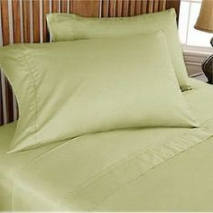 Deep Pkt 4 PC Sheet Set 1000 TC Egyptian Cotton All Color RV King Size