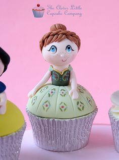 Anna Cupcake   by The Clever Little Cupcake Company