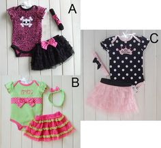 Theshy 3Pcs Toddler Infant Baby Girls Dot Print Tops T Shirt Strap Skirt Outfits Set Girls Clothing Childern Clothes