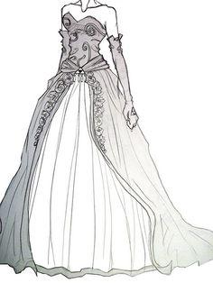 1000 images about legend of zelda wedding on pinterest for Legend of zelda wedding dress