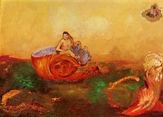 Odilon Redon:  The birth of Venus 1912