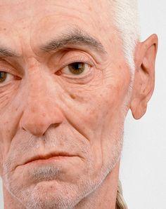 hyper realistic sculpture by Evan Penny Human Sculpture, Modern Sculpture, Abstract Sculpture, Sculpture Art, The Farm, Hyperrealistic Art, Acid Trip, 3d Prints, Photorealism
