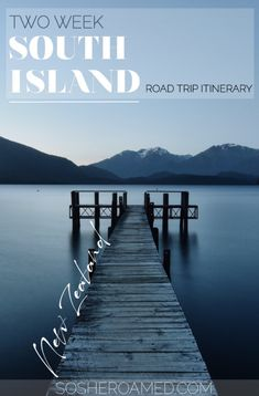 Travelling to New Zealand's stunning South Island? Keep reading for the ultimate two week road trip guide. The perfect wee guide for budding photographers and outdoor adventure lovers! New Zealand Travel Guide, New Zealand South Island, Stay The Night, Day Hike, Plan Your Trip, Solo Travel, Trip Planning, Travel Photography, Road Trip
