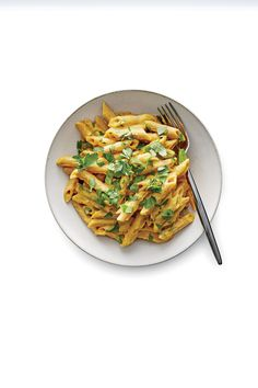 Pasta with Chickpea Sauce (Vegan) - Cooking Light Vegetarian Dinners, Vegetarian Recipes Easy, Healthy Recipes, Veggie Recipes, Healthy Foods, Pasta Recipes, Dinner Recipes, Cooking Light Recipes, Plant Based Eating