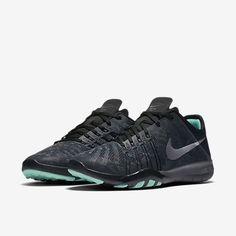 2699a4624b9fe Nike Free Tr 6 Metallic Womens Training Dark Grey Black Green Glow Metallic  Silver Sale UK