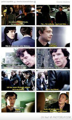 Sherlock / friend
