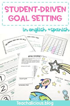 Help students develop growth mindset with this goal setting for students. This printable resource is perfect for progress monitoring and data tracking. The visual data wall and elementary friendly templates are easy ideas to implement in first and second