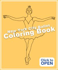 Tschaikovsky - Ballet - Coloring Book - New York City Ballet