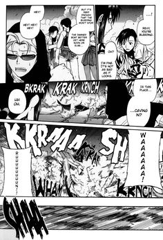 Black Lagoon manga,by Rei Hiroe.Rock cares about Revy.Eda is here too.The Greenback Jane chapter.
