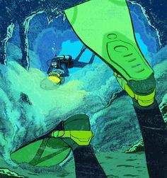 Safe Cave Diving: Two divers enter a cave and only one comes out. Whose fault was it?