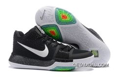 2f33a4565ccd35 Nike Kyrie Irving 3 Shoes Green Black White TopDeals