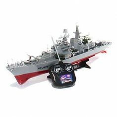 Wireless remote controlled destroyer ship