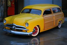 1949 Ford custom woodie wagon