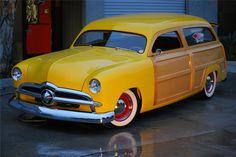 1949 Ford custom woodie wagon
