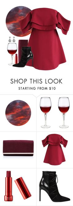 """""""Wine Country"""" by my-style-xo ❤ liked on Polyvore featuring Carvela Kurt Geiger, Chicwish, Yves Saint Laurent, Collette Z, country, girlstrip and WineTastingOutfit"""