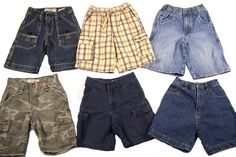 Boys Shorts Lot of 6 Size 5 Levi Canyon River Blues BoyZone Arizona #LevisCanyonRiverBluesBoyZoneArizona #Everyday