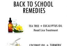NATURAL REMEDIES FOR BACK TO SCHOOL PROBLEMS