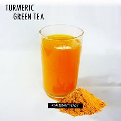 TURMERIC GREEN TEA RECIPE -   This tea is a perfect harmony to delight the senses even as it provides all the health benefits and will be part of my daily regime. delicious and hearty tasting tea that is also very good for my health