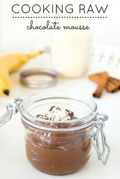 The Easiest Raw Chocolate Mousse | Express Chocolate Mousse | Healthy Dessert - Ready In 3 Minutes! www.farmpretty.com