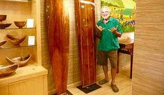 Kenny Tilton Surfboard Artist - His work can be seen at the Kona Oceanfront Gallery in Kailua Kona, Hawaii.