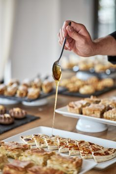 """GRANDMA'S RESTAURANT of Liostasi Hotel in Ios, honored with a Toques d' Or award in the category """"Modern Cuisine"""" in 2019 and offers an upscale culinary experience in creativ Grandma's Restaurant, Greek Sweets, Breakfast, Food, Kitchens, Morning Coffee, Eten, Meals, Morning Breakfast"""
