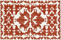 Rooster Parade by Eino Natti of the Folly Cove Designers
