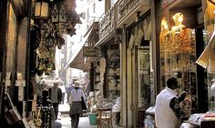 old Islamic buildings in Cairo pic