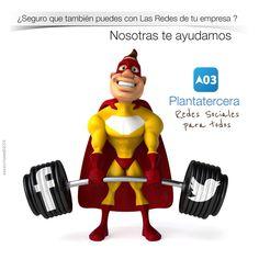 Diseño en redes sociales. Plantatercea. Xavier Portalés. redes sociales www.plantatercera.com La Red, Mario, Fictional Characters, Socialism, Social Networks, Creativity