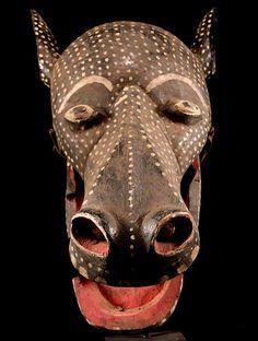 Mask Bambara Mali