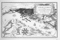 Arthur Ransome.  Yes. Arthur Ransome, Swallows And Amazons, Garth Williams, Illustrated Maps, Norfolk Broads, Image Makers, School Holidays, Book Illustrations, Globes